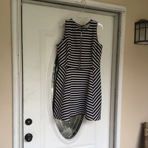 Michael Kors Stripe Dress Sz 14